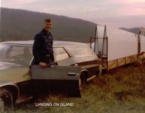 Rob Root after island landing
